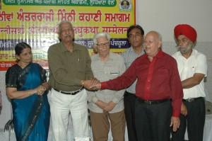 माता शरबती देवी पुरस्कार के अवसर पर  पंचकूला में अक्तुबर 2010
